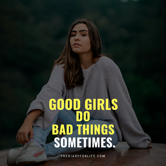 good girl quotes
