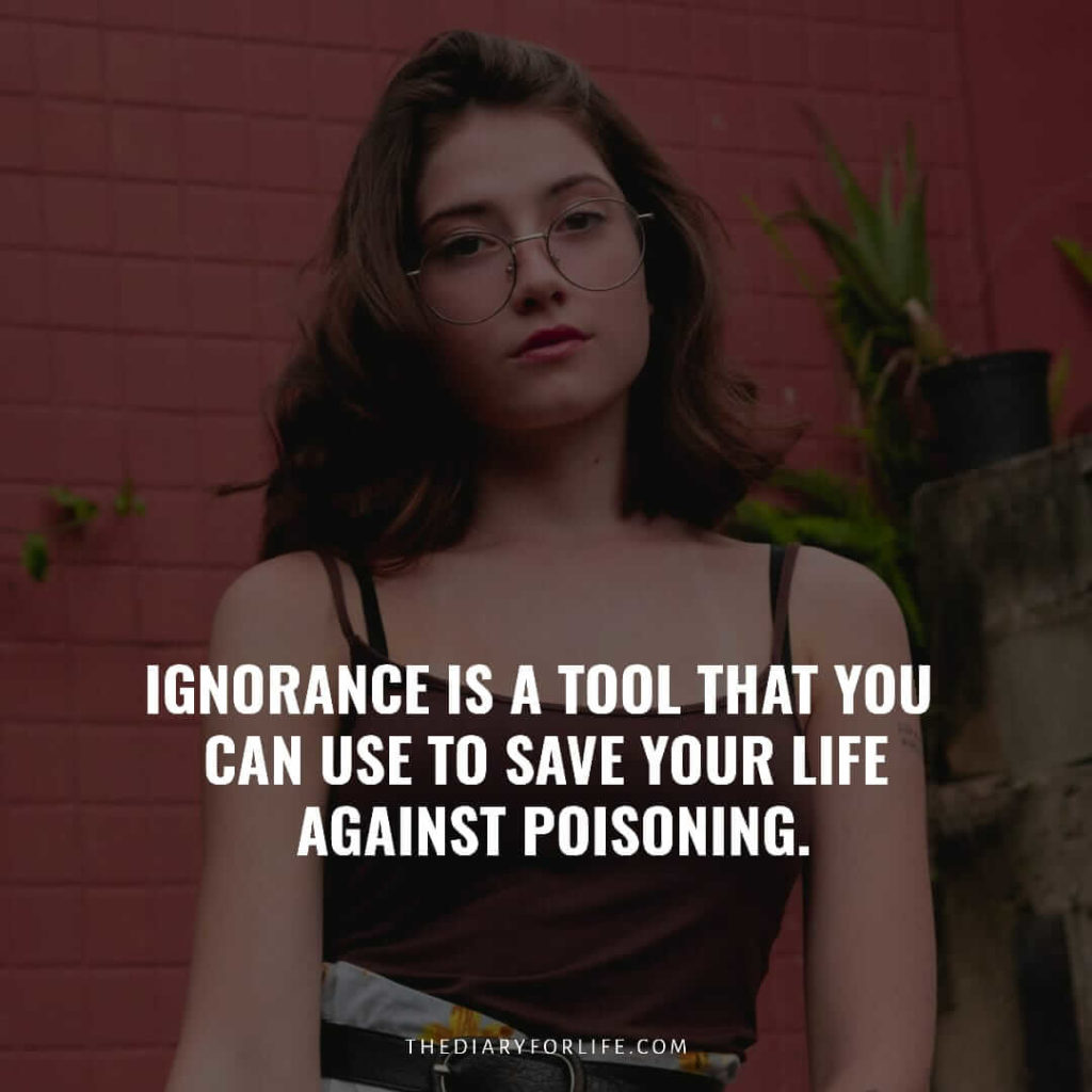 quotes on ignorance in love