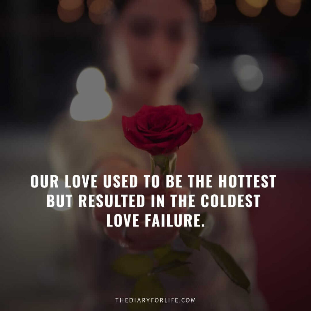 love failure quotes for girls
