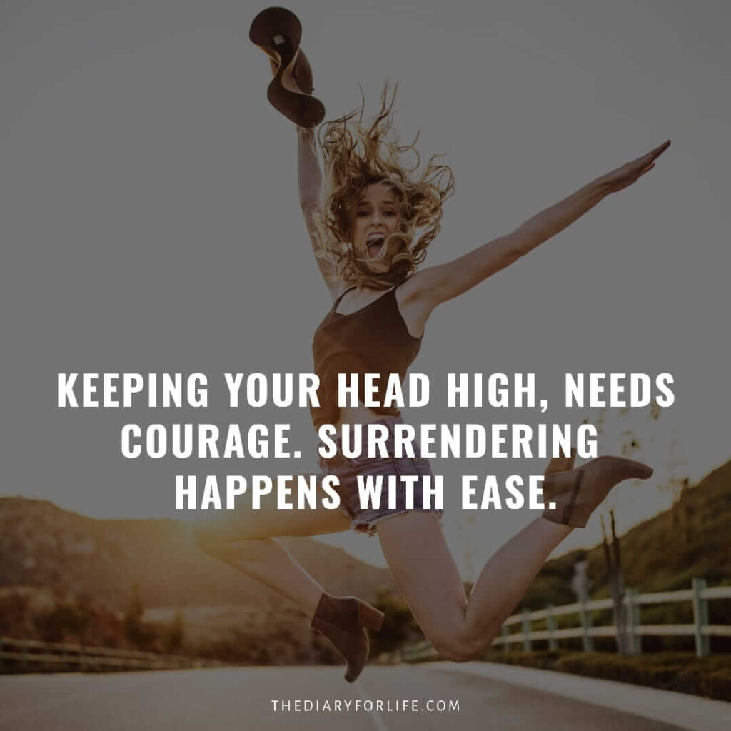 quotes about keeping your head up and staying strong
