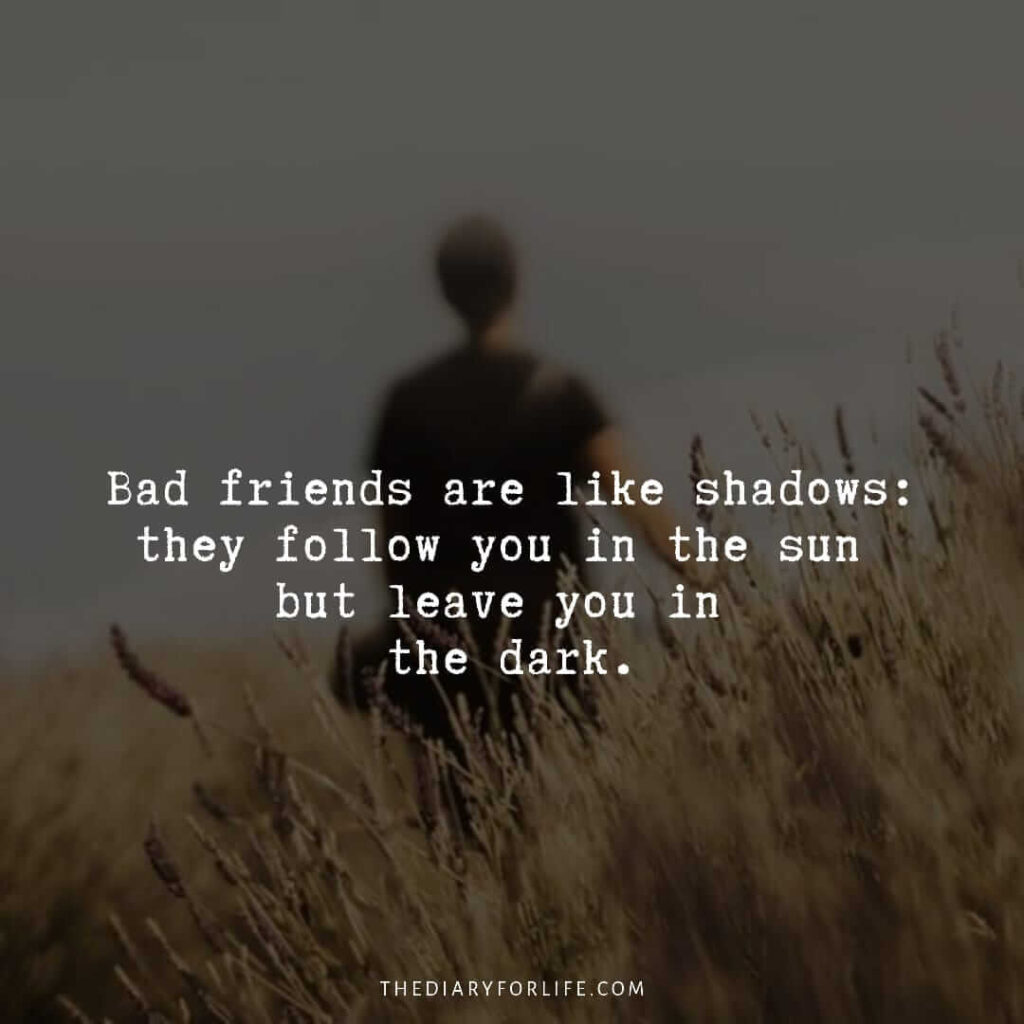 quotes about bad friends and karma