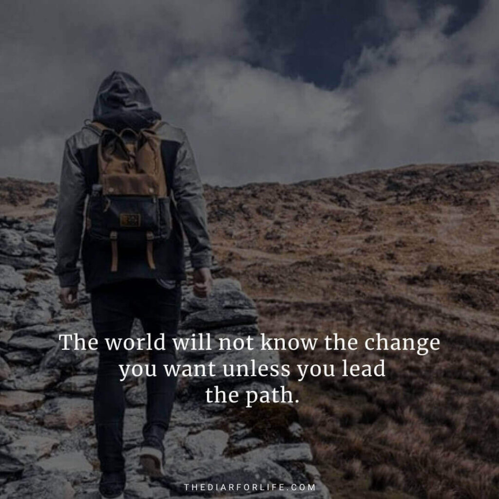 quotes about changing the world and making a difference