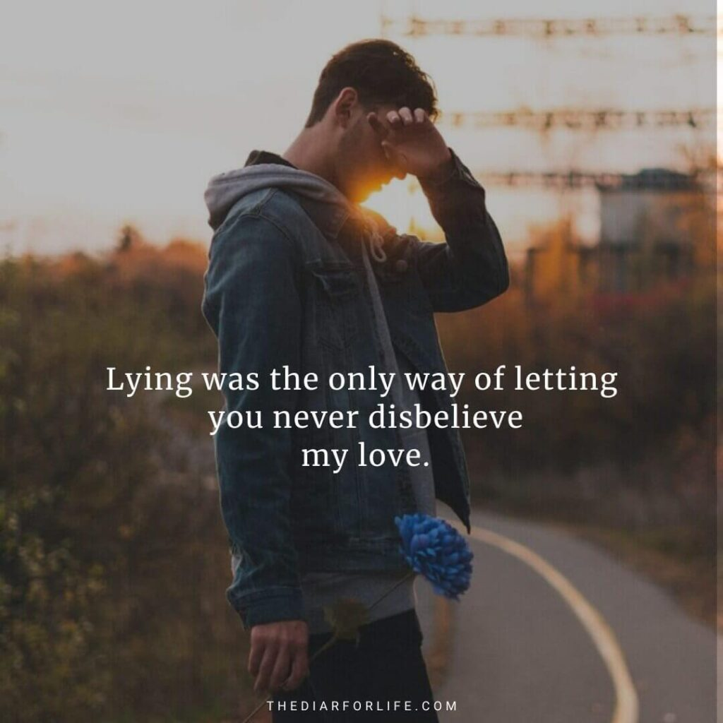 quotes about lies in relationships