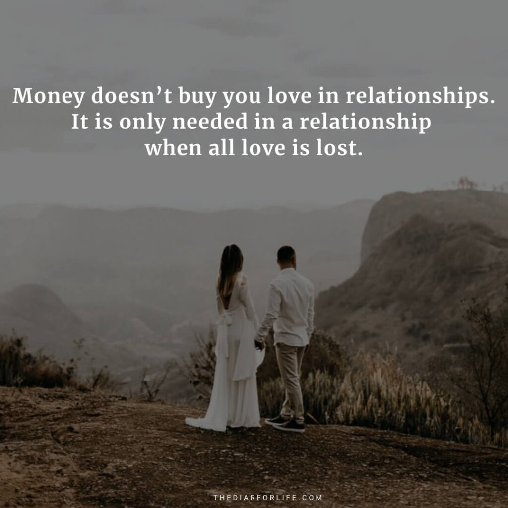 money is not everything quotes