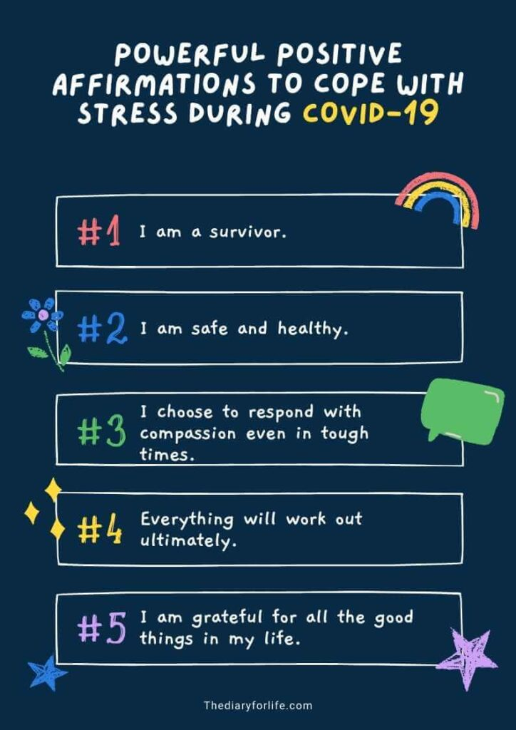 positive affirmations to cope with stress