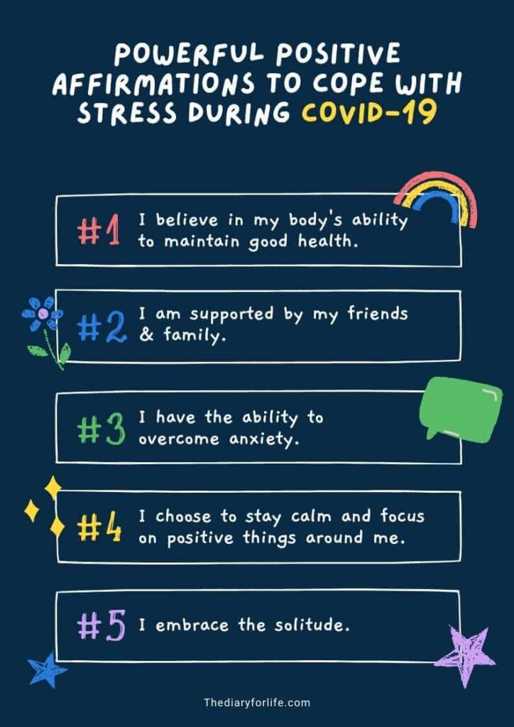 positive affirmations for stress