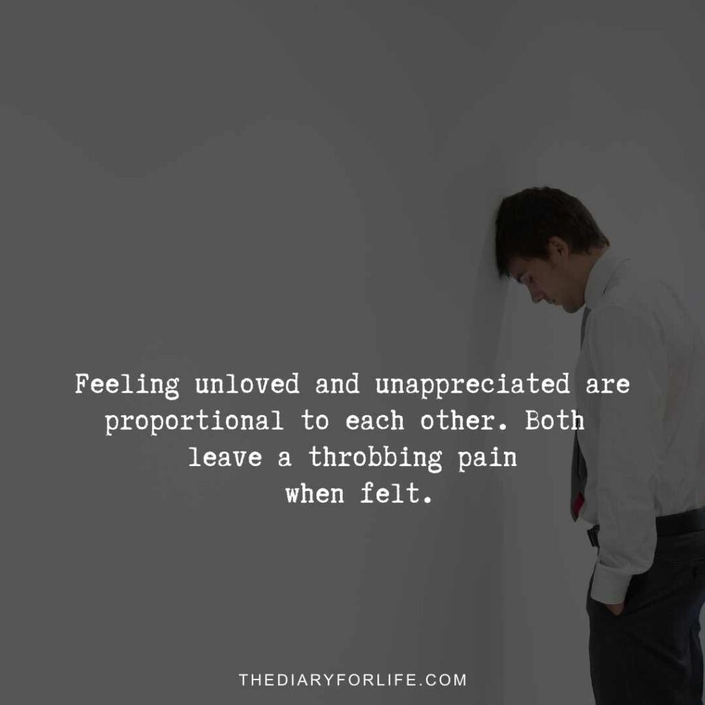 quotes about not being appreciated.