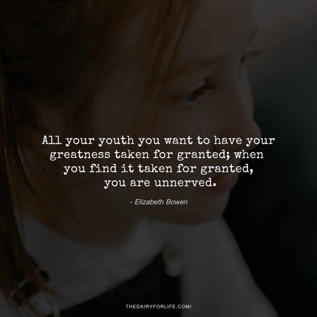 quotes about taking things for granted