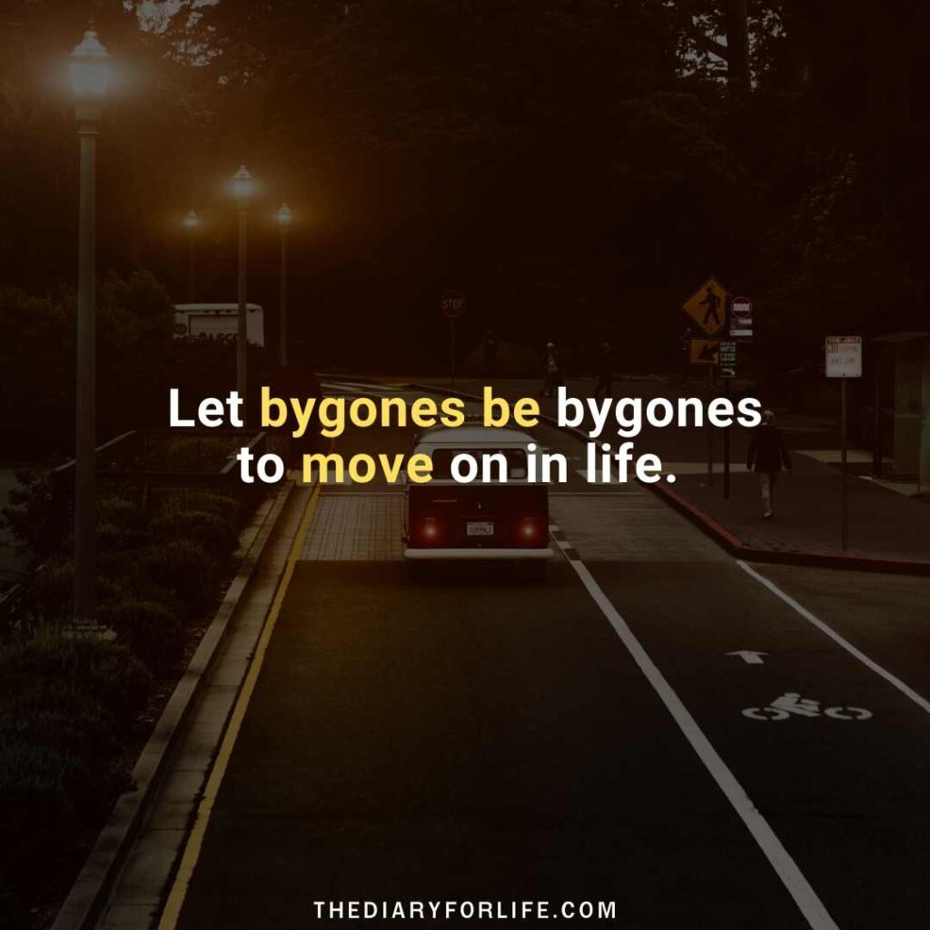 quotes about leaving the past behind